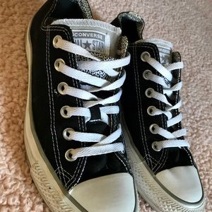 Black All Star Low-top Converse